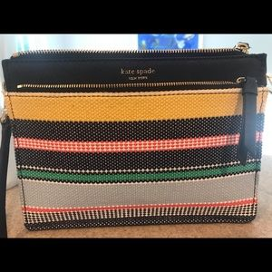 Kate Spade boardwalk Striped Crossbody